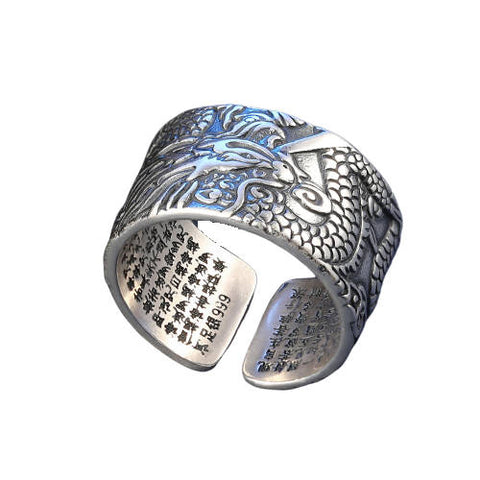 Bague Dragon Bouddhisme | L'Antre du Dragon