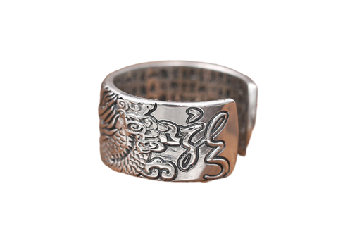 Bague Dragon Feng Shui | L'Antre du Dragon