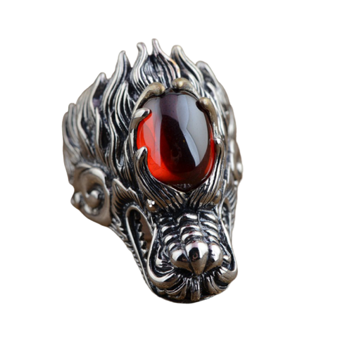 Bague Dragon Hindou | L'Antre du Dragon