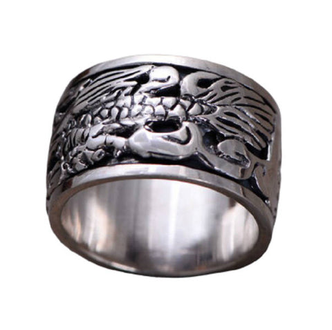 Bague Dragon Motard | L'Antre du Dragon