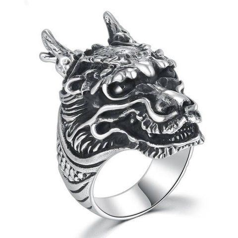Bague Dragon Steampunk | L'Antre du Dragon