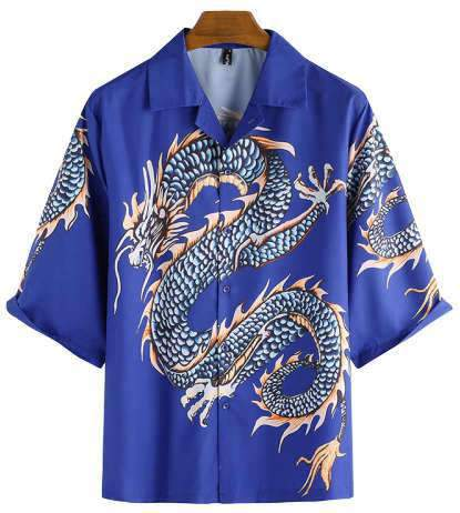 Chemise Dragon Kevin | L'Antre du Dragon