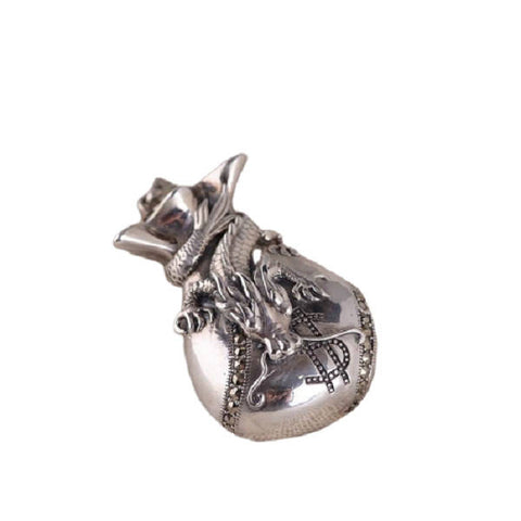 Collier Dragon Bourse | L'Antre du Dragon