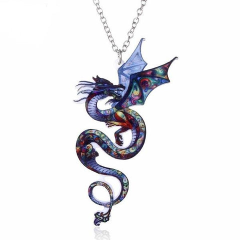 Collier Dragon Chromatique | L'Antre du Dragon
