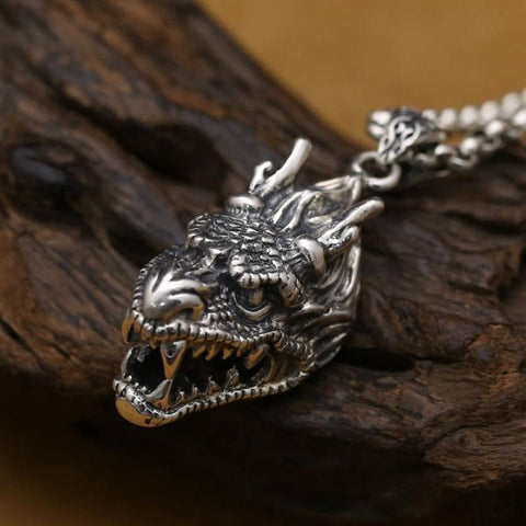 Collier Dragon Enragé | L'Antre du Dragon