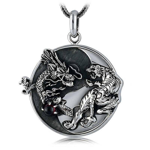 Collier Dragon Feng Shui | L'Antre du Dragon