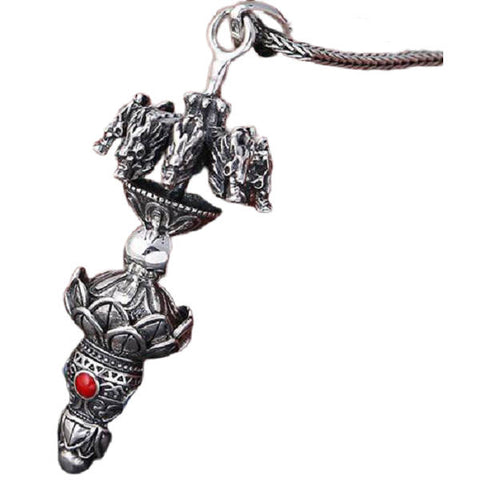 Collier Dragon Lotus | L'Antre du Dragon