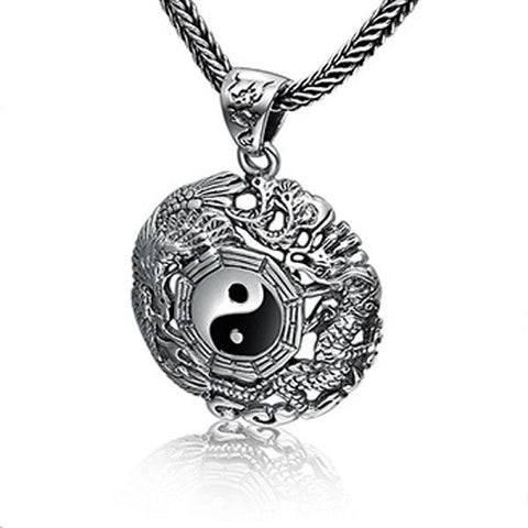 Collier Dragon Yin Yang | L'Antre du Dragon