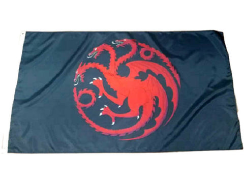 Drapeau Dragon Noir | L'Antre du Dragon