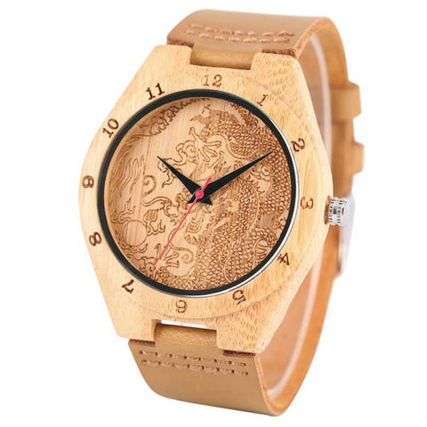 Montre Dragon Bambou | L'Antre du Dragon