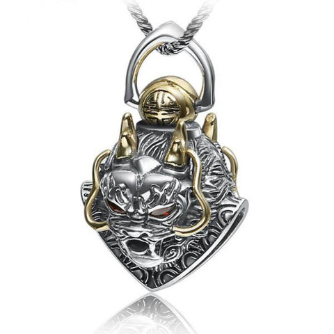 Pendentif Dragon Or Jaune | L'Antre du Dragon