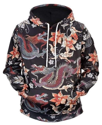Sweat Dragon Fleuri | L'Antre du Dragon