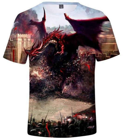 T-Shirt Dragon Combat Final | L'Antre du Dragon