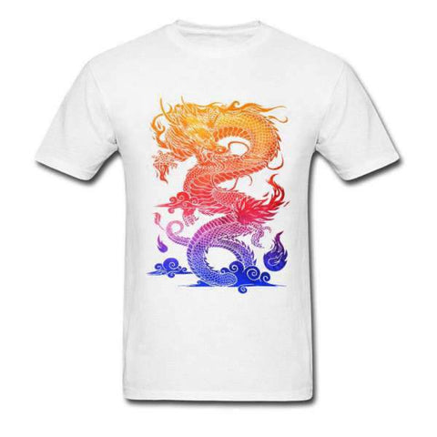 T-Shirt Dragon Multicolore | L'Antre du Dragon