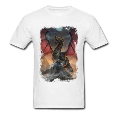 T-Shirt Dragon Peinture | L'Antre du Dragon