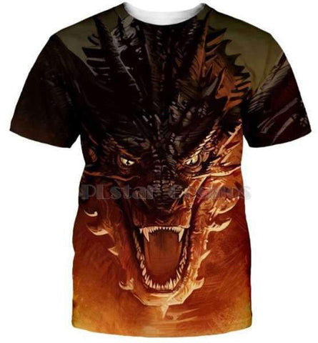 T-Shirt Dragon Targaryen | L'Antre du Dragon