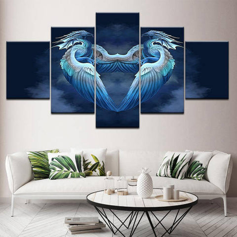 Tableau Dragon Mignon | L'Antre du Dragon