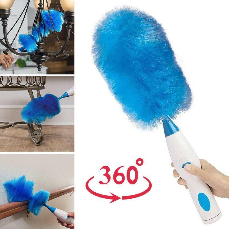 Hurricane Spinning Duster with 2 Brushes to Exchange
