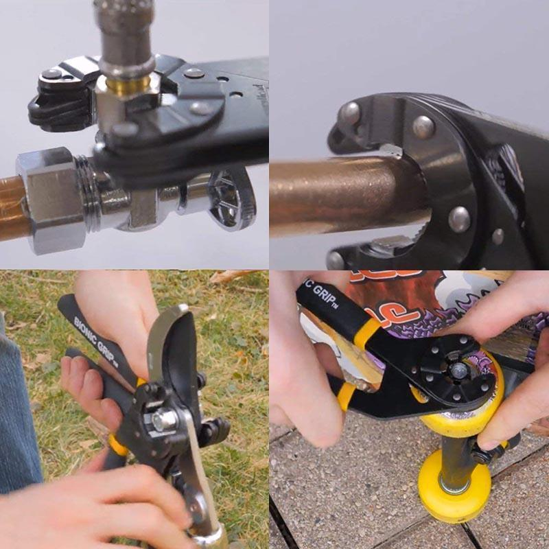 Pre-Sales>>Multifunctional Logger Head Bionic Grip Wrench