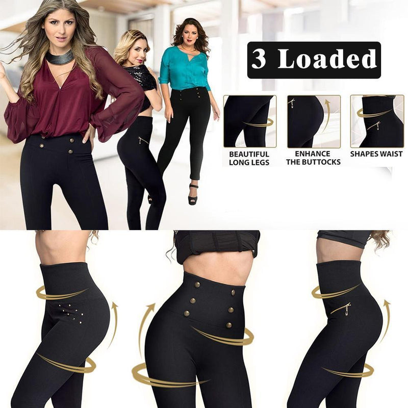 High-Waist Shaping Leggings