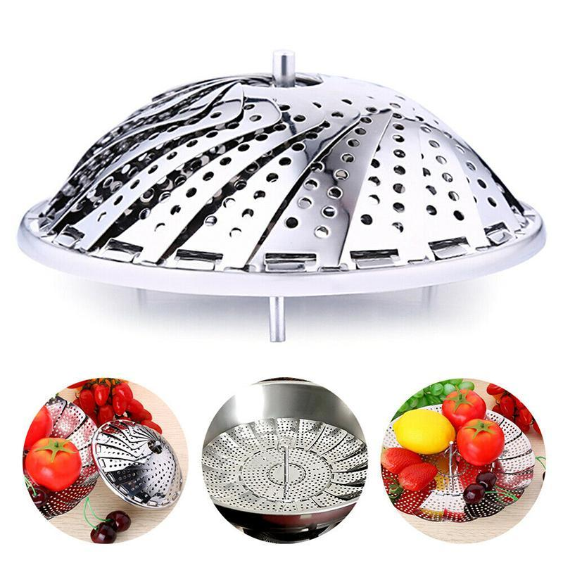 Stainless Steel Telescopic Steamer
