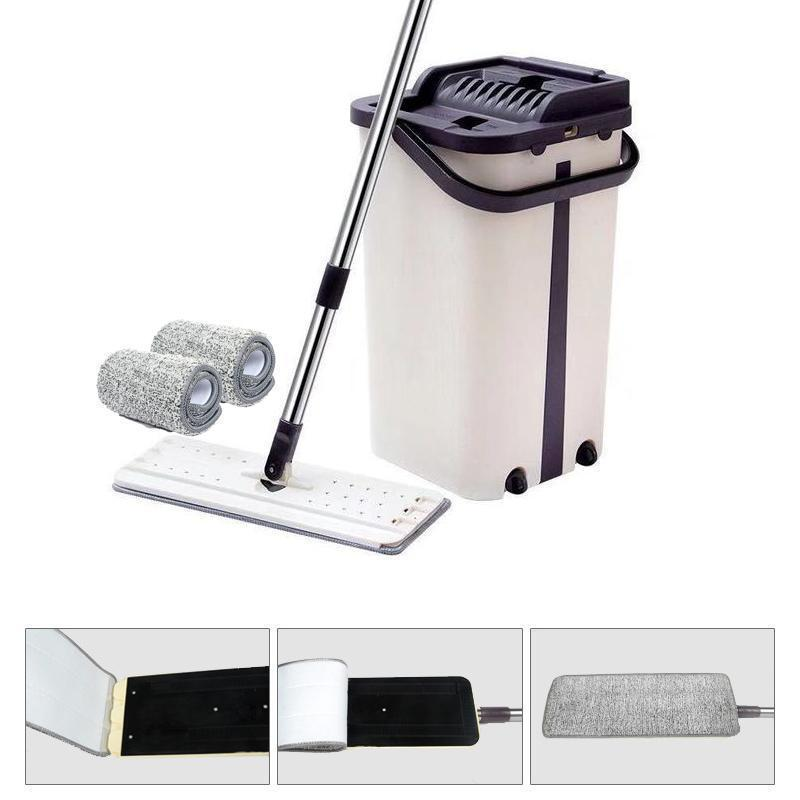 Squeezy Clean Self Cleaning Microfiber Mop