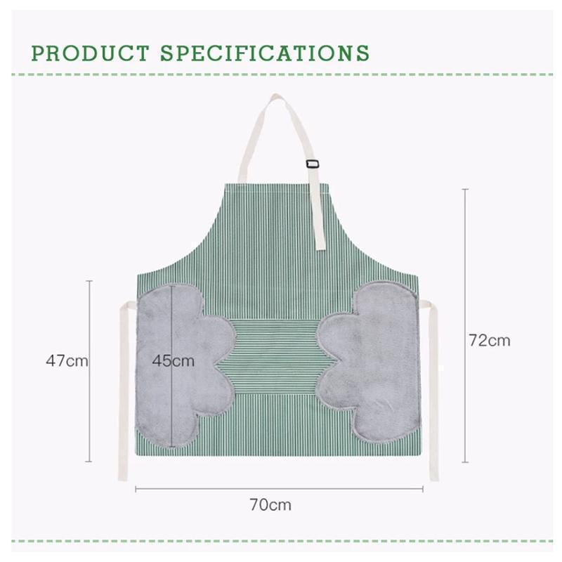 Adjustable Erasable Waterproof Kitchen Apron