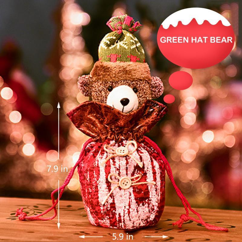 Lovely Doll Decoration Santa Gift Bags