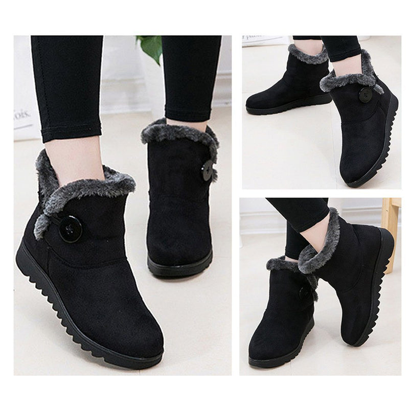 Women's Non-Slip Fleece Lining Snow Boots