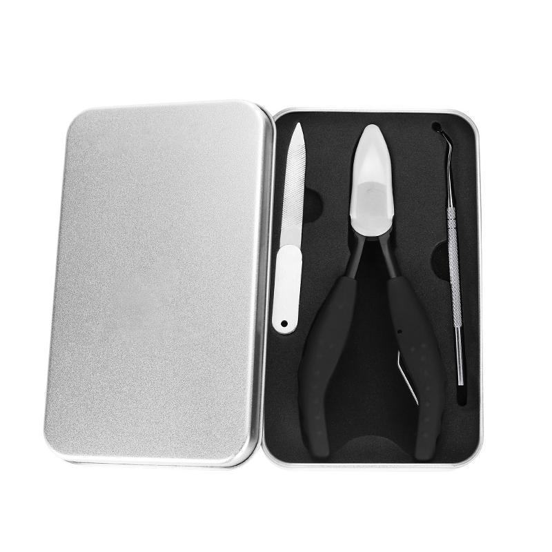 304 stainless steel nail clipper set, Prevention of paronychia, fungal infection