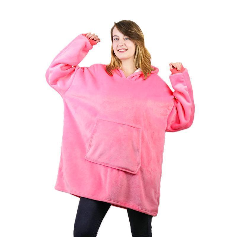 Comfybear Blanket Sweatshirt For Adults & Children - PAPA BEAR HOME