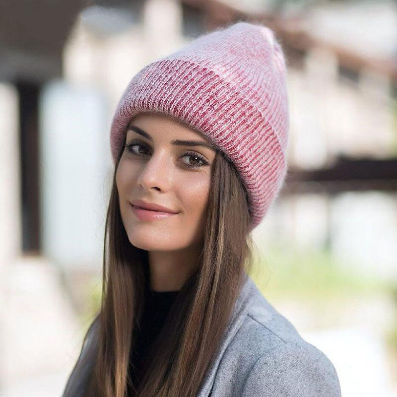 Trendy Knitted Winter Beanie Hat