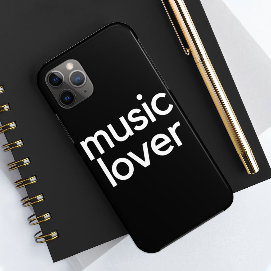 Music Lover Case Mate Tough Phone Case