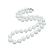 White Gemstone necklace for women