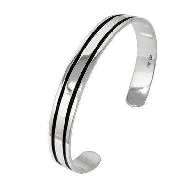 Sold Silver bangle for men