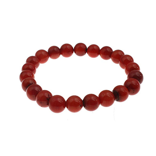 Red Coral Women's Bracelet 17cm