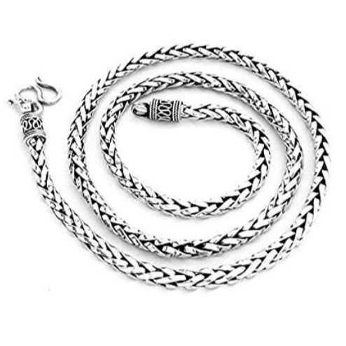 bali silver chain necklace for men