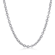 Women anchor chain necklace