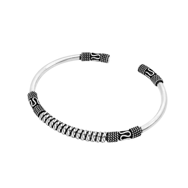 Bali silver bangle for women