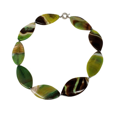 Chunky Green necklace for women