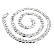 mens solid silver chain, Paul Mescal