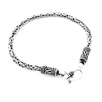 Bali Silver chain bracelet for women