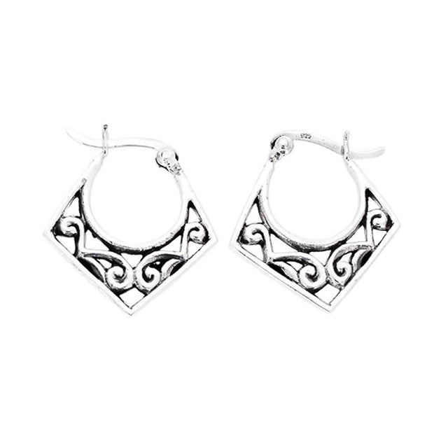 Sterling Silver Thai Earrings