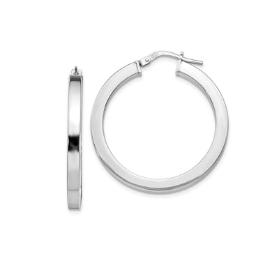 Stylish Silver Hoop earrings