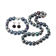 women's pearl necklace set