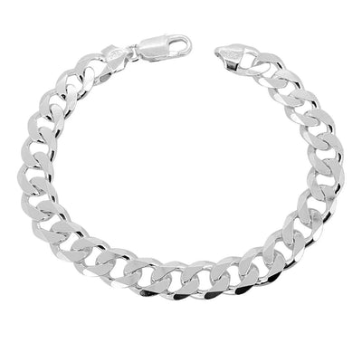 Chunky Heavy Silver Chain Bracelet for men