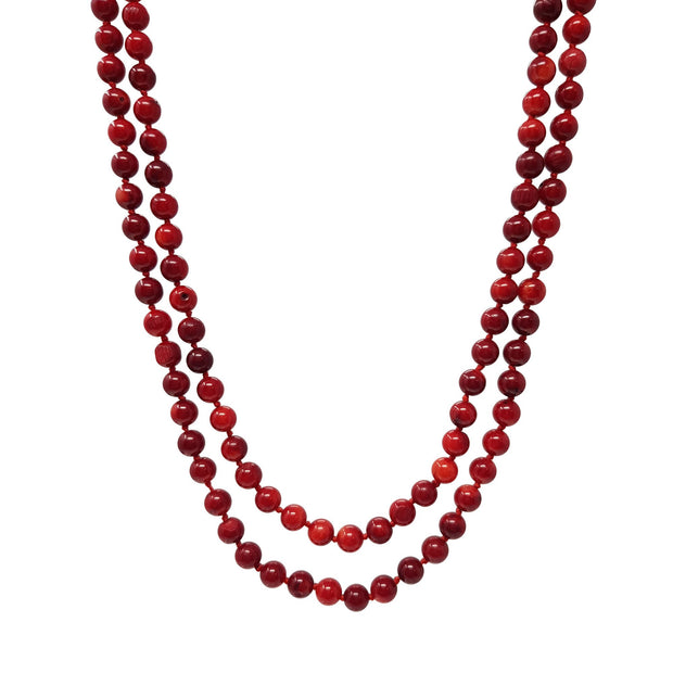 red coral necklace for women