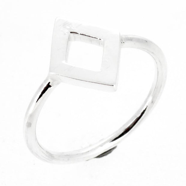 Womens silver ring