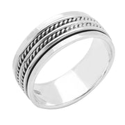 Spinner ring sor men