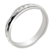 Silver Spinning Ring for WOMENS